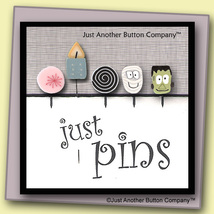 Pixie Wishes Just Pins JP132 set 5 for pincushions JABC Just Another Button Co - $13.05