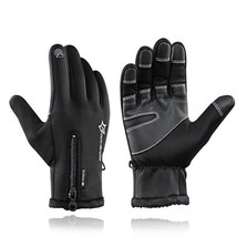 Men Windproof Winter Warm Fleece Thermal Motor Ski Snow Snowboard Gloves... - $18.99