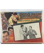 Vintage 1953 MGM Idolo de las Multitudes Lobby Card - $32.73