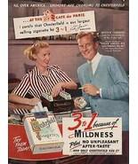 Chesterfield Cigarettes 1952 Movie AD Actor William Lundigan Studio Cafe - $14.99