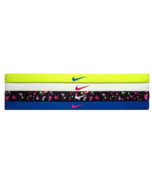 NEW Nike Girl`s Assorted All Sports Headbands 4 Pack Multi-Color #22 - $20.00