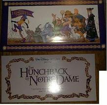 Walt Disney Hunchback of Notre Dame lithograph litho  - $5.00