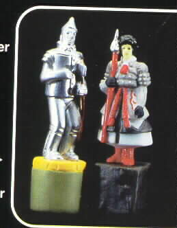 Wizard of Oz Tin Man & Witch Soldier S&P Free S&