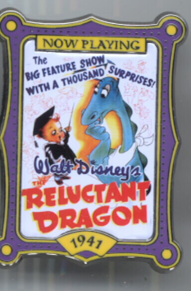 Disney Reluctant Dragon dated 1941 Post pin/pins