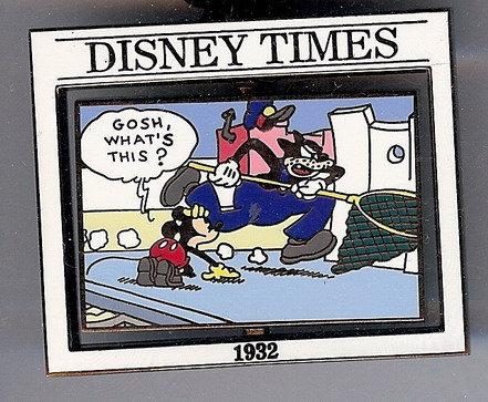 Disney Times Mickey Mouse Sunday Comic #2 Pin/pins