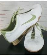 Nike The Rival Shox Size 10 White Olive Green Womens MKJ - $98.11