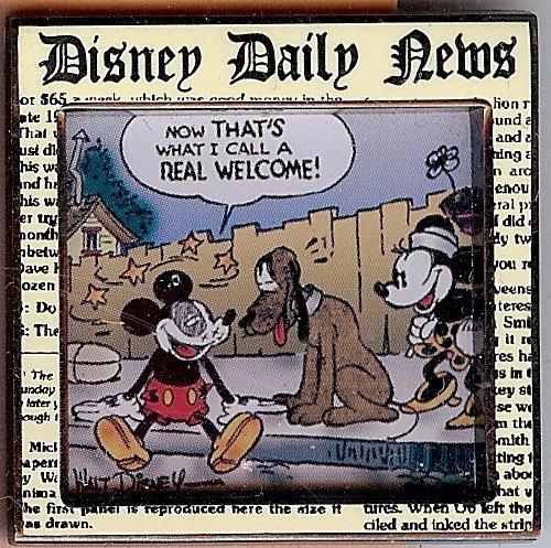 Disney Daily News Comic Strip Series #4 Pin/pins