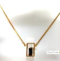 Vintage Sarah Coventry  Jewelry - #8873  Genuine Tiger's  eye Pendant - $20.59