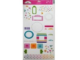 """Doodlebug Designs """"Candy Coated"""" Cardstock Sticker Set #706"""