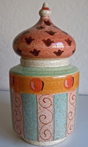 Horchow Medici Medium Canister Made In Italy - $134.63