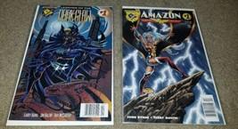 2 DC Amalgram Comic Dark Claw Amazon 1 NM DK Rare htf Newsstand Variant ... - $19.99