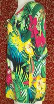 THOMAS & OLIVIA stretch cotton floral short sleeve tunic blouse PL (T2503C8G) image 6