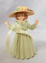 Maud Humphrey Bogart Figurine Autumn Days Girl Hat Ribbon H1348 Hamilton... - $19.34