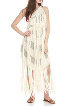 Free People Whisk Me Away Macrame Dress XSmall - $110.87