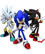 SONIC personalised Custom Edible ICING Birthday Cake Decoration Topper I... - $9.99
