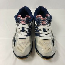 Mizuno Womens Wave Lighting PYV 0216 Blue Gray Running Shoes Lace Up Size 9.5 - $38.69