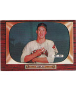 Bob Feller 1955 Bowman #134 Baseball Card EX+ - $59.00