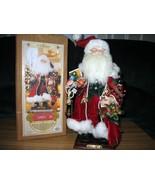 Grandeur Noel Santa Retired Victorian Red Santa - $20.00