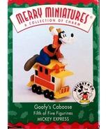 Goofy's Caboose Ornament '98 Hallmark Merrie Minatures - $10.00