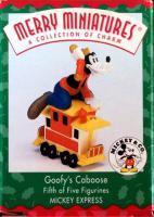 Goofy's Caboose Ornament '98 Hallmark Merrie Minatures