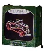 Auburn Kiddie 1937 Car Hallmark Retired Ornament Men Car Sport Mint 1st ... - $11.00