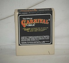 Vintage 1982 Carnival by Sega Atari 2600 Coleco GAME CARTRIDGE ONLY Unte... - $6.92