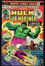 Marvel Super Heroes #50 ORIGINAL Vintage 1975 Comic Book Hulk Plunderer - $9.49