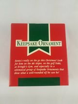 1989 Hallmark Keepsake Ornament Camera Claus Santa Claus Taking Pictures image 6