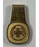 Old VTG Nurse Doctor Money Clip Piedmont Hospital Atlanta, Georgia Gold ... - $24.45