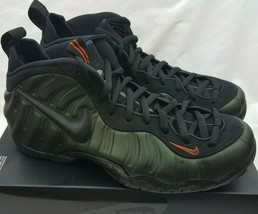Nike Men's Air Foamposite Pro 'Sequoia' Green Shoes 624041-304 size 11 - $138.59