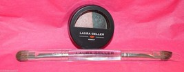 Laura Geller Sateen Fresco Mystic Sea Eye Rimz eye shadow liner  w / brush - $8.99