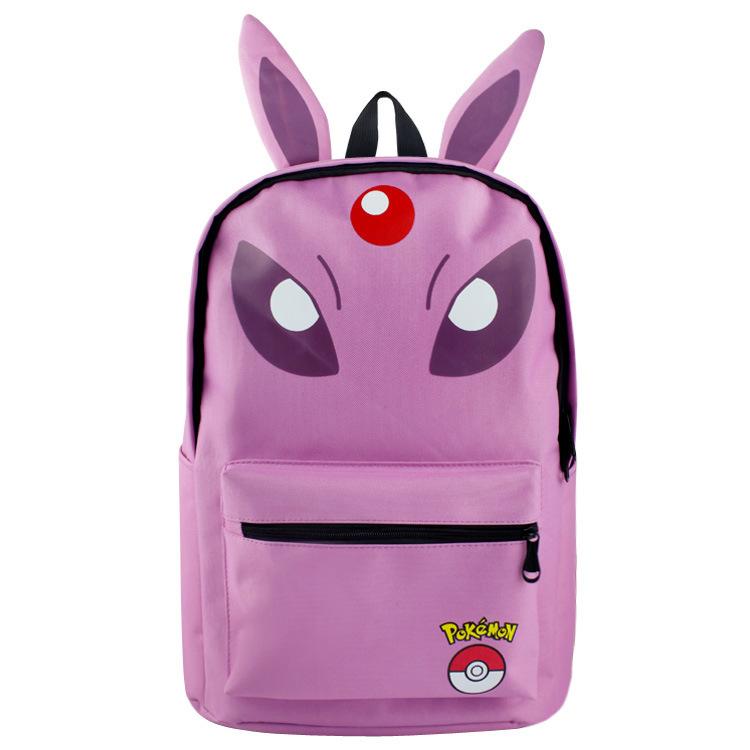 4543b2f03f60 Pokemon Game Theme Backpack Schoolbag and 14 similar items. Pokemon  backpack schoolbag daypack purple espeon