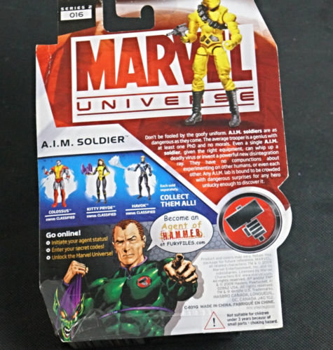 Marvel Universe A.I.M. Soldier Action Figure Series 3 2010 New