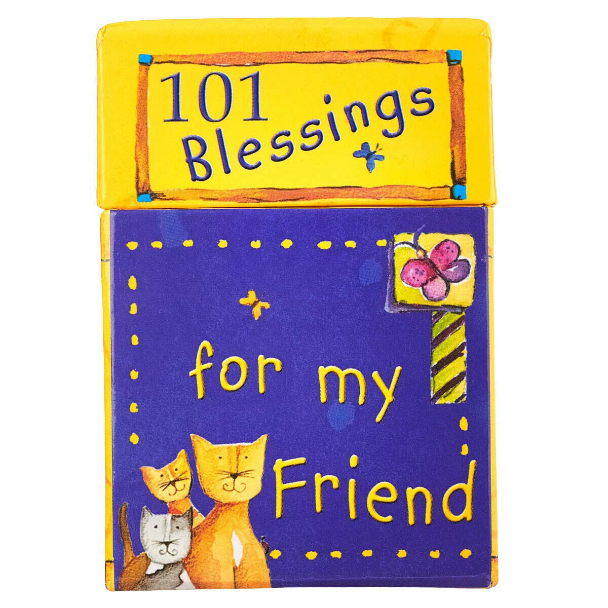 Primary image for 101 Blessing For My Friend NEW Boxed Cards With Inspirational Messages Love Joy