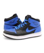 Nike Mens 11.5 Air Jordan Alpha 1 Varsity Royal Black Blue Retro High 39... - $169.99