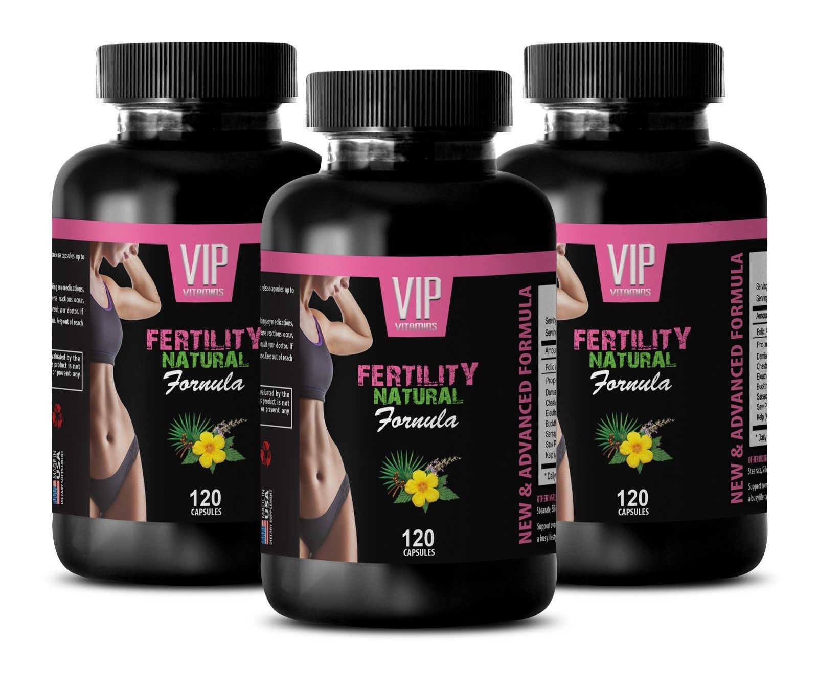 enhancement all natural -3B FERTILITY NATURAL 360 CAPSULES - folate women - $33.62