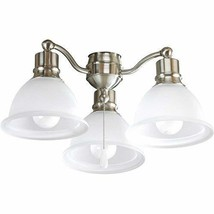 Progress Lighting P2623-09WB Fan Light Kit, Brushed Nickel - $143.60