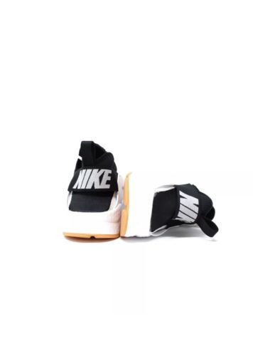 new concept dc40b 03b11 New Nike Air Huarache Run Ultra Women White Black Gum Yellow White Size