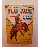 Uncommon Cowboy Vintage Slapjack Card Game by Fairchild With Instruction... - $25.56