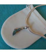 NEW Disney Princess Theme Charm - Cinderella's Glass CZ Slipper Shoe + p... - $11.99