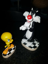 Extremely Rare! Looney Tunes Sylvester with Tweety Small Figurine Statue... - $148.50