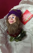 Possible Dreams Elf  Gnome Christmas Ornament NOS - $9.89