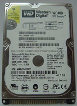 "10% off 2+ WD WD400UE 40GB IDE 2.5"" Drive Tested Good Free USA Shipping - $19.95"