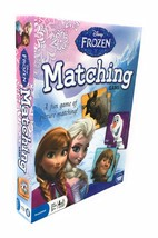 Disney Frozen Memory Match Game Picture Matching Featuring Frozen Charac... - $9.85