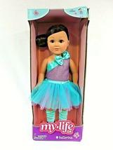 """RARE My Life As 18"""" Poseable Ballerina Doll Brunette Hair Brand New In Box - $52.20"""
