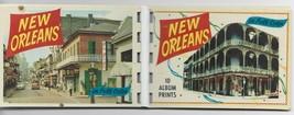 Vintage New Orleans Miniature Photo Album w/10 Prints, Site Information - $14.00