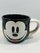 Disney Store Exclusive Mickey Black And White Oversize Mug EUC - $10.88