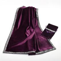 New Altar Tarot Cards Bag Table Cloth Divination Wicca Vintage Velvet Ta... - $19.69