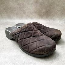 Liz Claiborne Womens Charleze  Sz 8.5 M Brown  Slip On Loafer Mules - $24.99