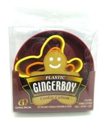 Plastic GINGERBOY Cookie Cutters Set of 3 Gingerbread Boy Man 3 Sizes New - $7.54